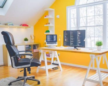 Yellow Home Office Ideas Amazing Decorating