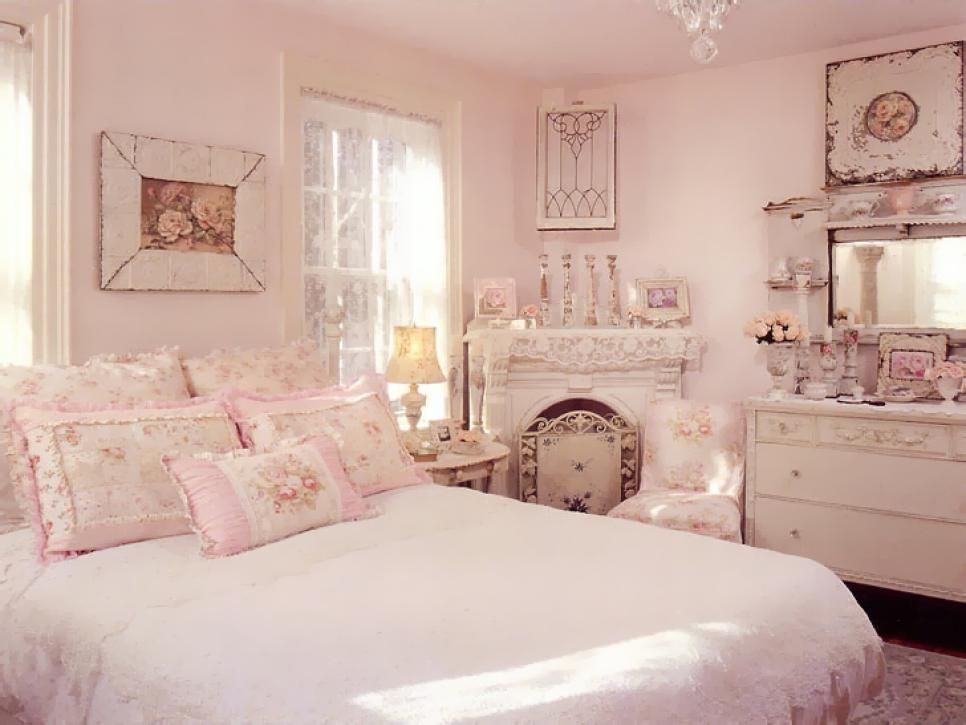 Add Shab Chic Touches To Your Bedroom Design Hgtv Impressive Ideas For Shabby Chic Bedroom
