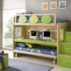 Awesome Picture Of Bright Room Childrens Bedroom Interior Cheap Bedroom Design Ideas For Kids