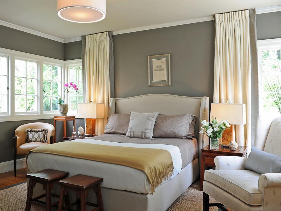 Beautiful Bedrooms Shades Of Gray Hgtv Contemporary Grey Bedroom Designs