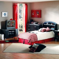 Bedroom Ideas For Teenage Custom Bedroom For Teenage Guys