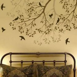 Bedroom Ideas With Wall Stencils Wallpaper Mural Ideas Elegant Bedroom Stencil Ideas