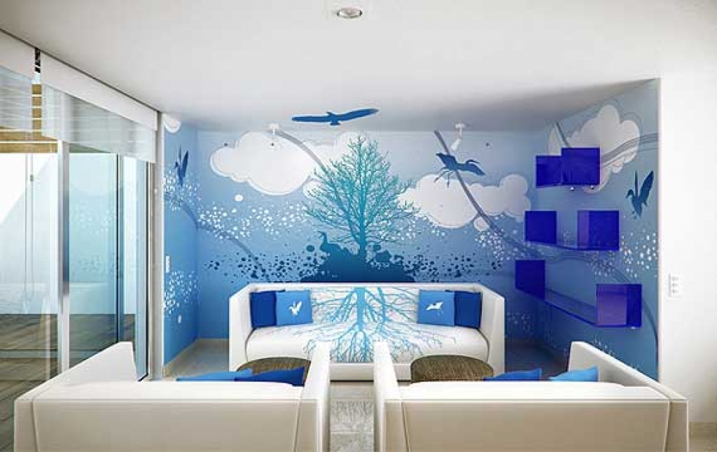 Bedroom Paint Design Beautiful Wall Painting Ideas And Designs Inspiring Bedroom Painting Design Ideas