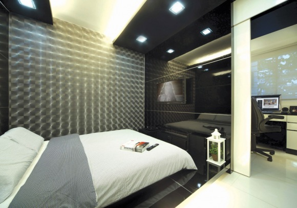 Bedroom With Laminate Wall Brilliant Wall Laminates Designs