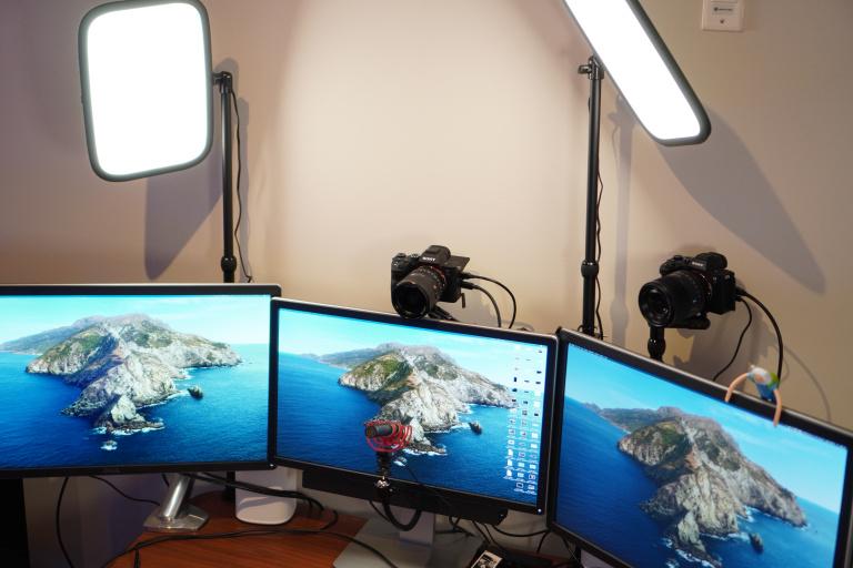 best home office lighting for video conferencing setup jpeg