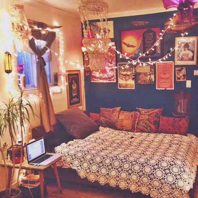 Best Ideas About Hippie Room Decor On Pinterest Hippy Beautiful Hippie Bedroom Ideas