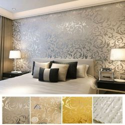 Best Ideas About Luxury Wallpaper On Pinterest Interior Modern Bedroom Wallpaper Designs Ideas