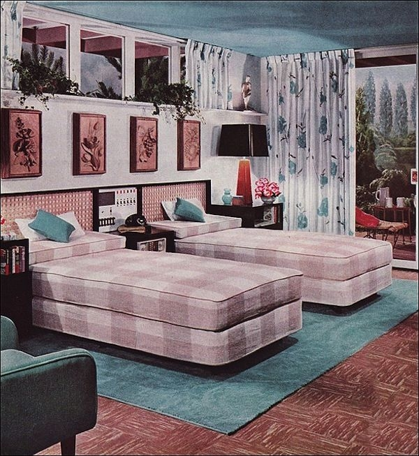 Best Ideas About Modern Retro Bedrooms On Pinterest Retro Contemporary Retro Bedroom Design