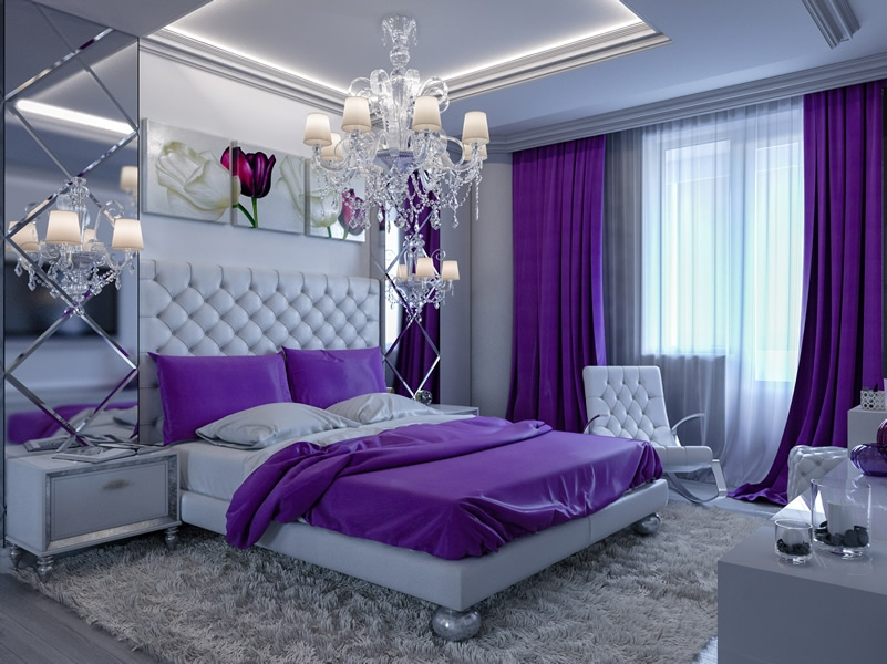 Best Ideas About Purple Bedroom Design On Pinterest Purple New Designed Bedroom