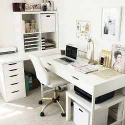 Best Minimalist Home Office Desk Sleek Simple