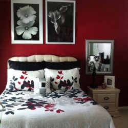 Best Red Black Bedrooms Ideas On Pinterest Classic Red White Bedroom Designs