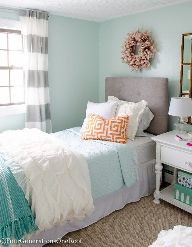 Best Teen Bedroom Colors Ideas On Pinterest Contemporary Bedroom Colors For Girls