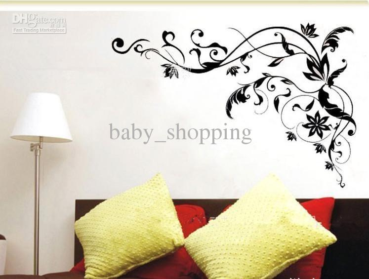 brand new bedroom wall art unique design stickers for walls