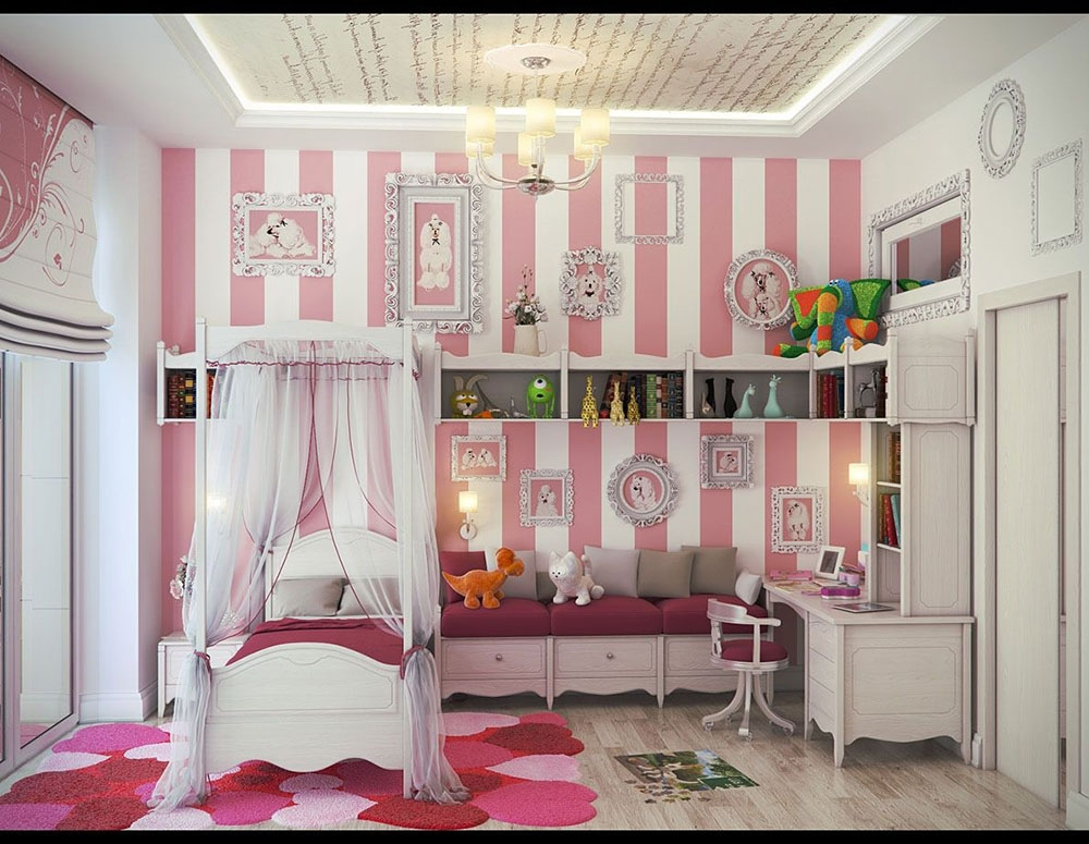 colorful girls rooms design decorating ideas pictures awesome beautiful bedroom ideas for small rooms
