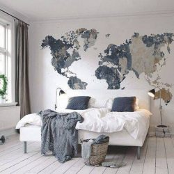 Cozy Destination Bedroom Endearing Travel Home Decor  Jpeg