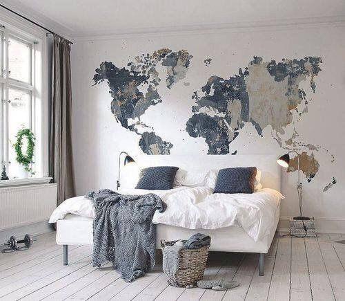 Cozy Destination Bedroom Endearing Travel Home Decor