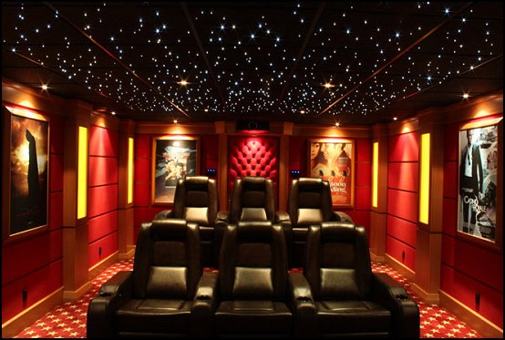 Decorating Theme Bedrooms Adorable Home Cinema Decor