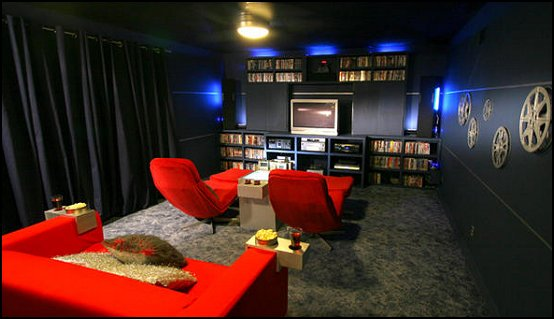 Decorating Theme Bedrooms Custom Home Cinema Decor
