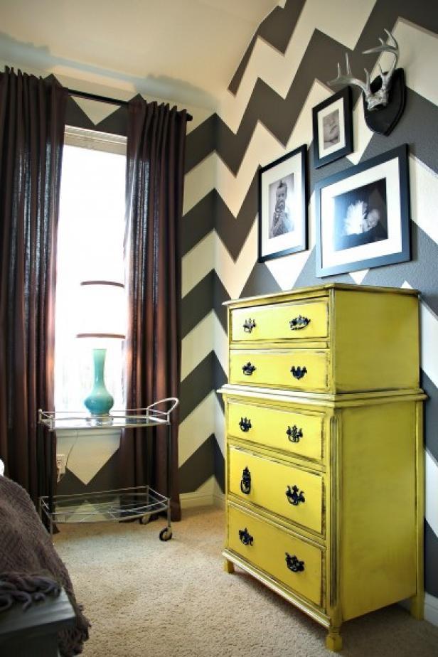 Decorative Painting Techniques Diy Unique Bedroom Stripe Paint Ideas