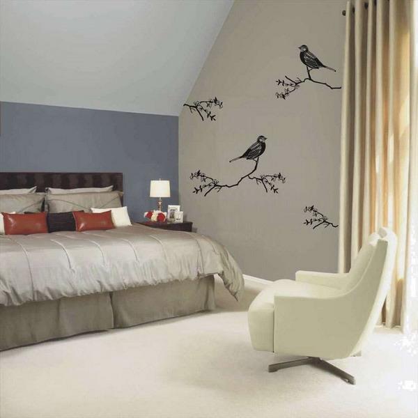 Designer Walls For Bedroom Best Ideas About Bedroom Wall On Minimalist Design Of Bedroom Walls