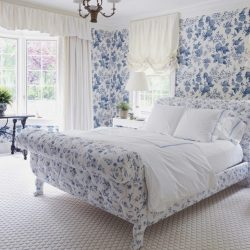 Floral Wallpaper Bedroom Ideas Benrogersproperty Elegant Floral Wallpaper Bedroom Ideas 1