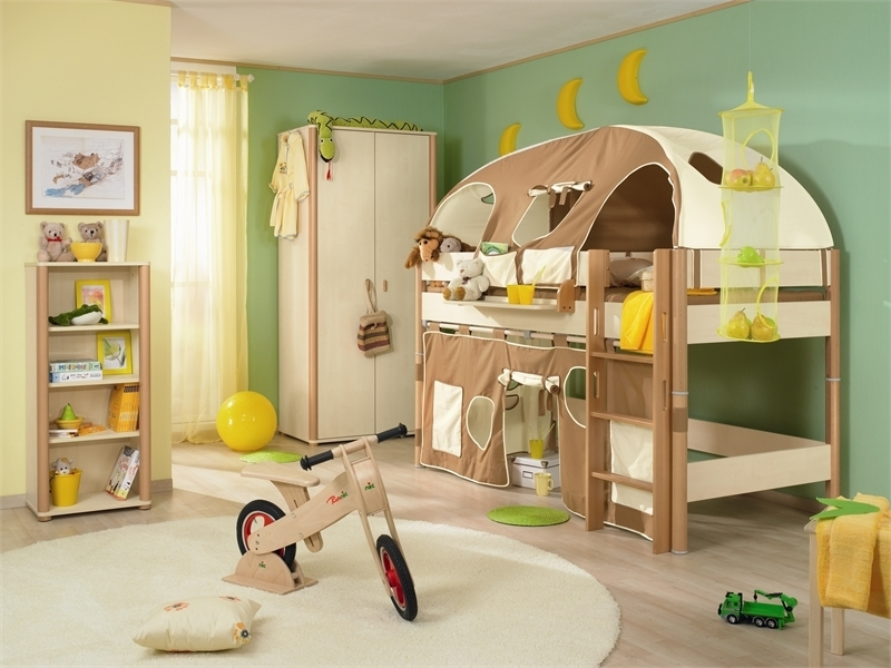 Funny Play Beds For Cool Kids Room Design Paidi Digsdigs Within Designer Kids Beds Best Designer Childrens Bedroom Furniture