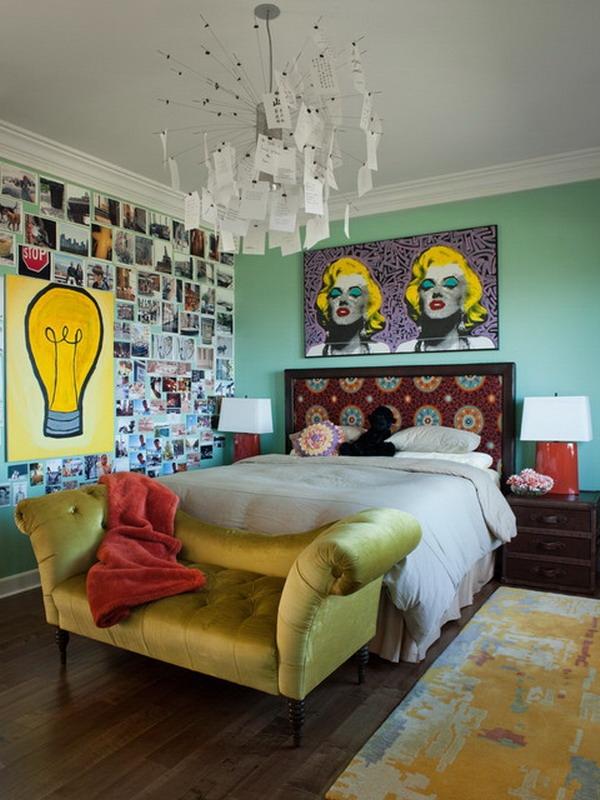 green bedroom design and retro bedroom decor home interior inexpensive retro bedroom design