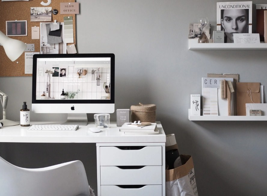 Home Office Desk Minimalist The Best Simple