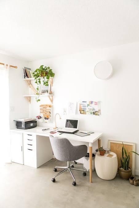 Home Office Lighting Plants