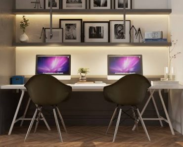 Home Office Mood Lighting Double