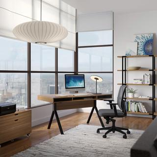 Home Office Overhead Lighting