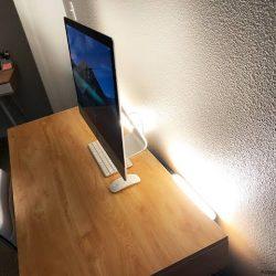 Home Office Video Lighting Setup Jpeg