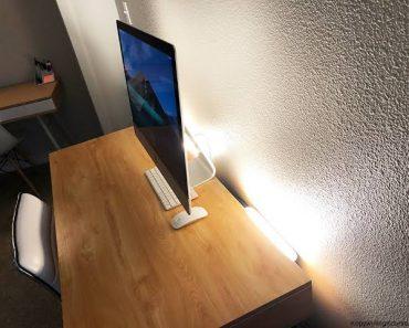 Home Office Video Lighting Setup