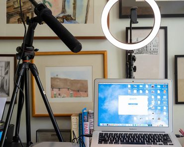 Home Office Zoom Lighting
