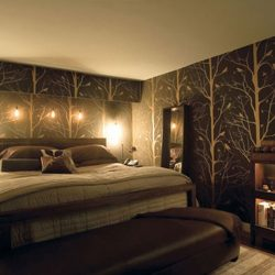 Ideas Bedroom Wallpaper Designs On Contemporary And Warm Modern Bedroom Wallpaper Designs Ideas