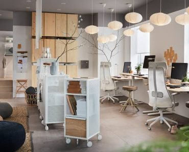 Ikea Home Office Lighting Workspace Inspiration