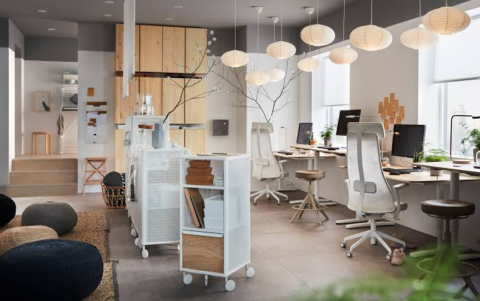 Ikea Home Office Lighting Workspace Inspiration Jpeg