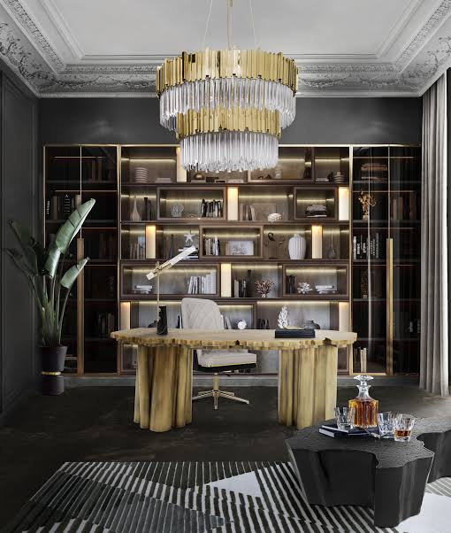 luxury home office lighting that will inspire productivity jpeg