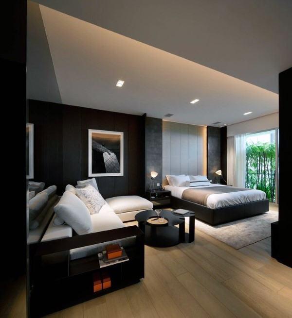 Mens Bedroom Ideas Masculine Interior Design Inspiration Simple Bedroom Designs Men