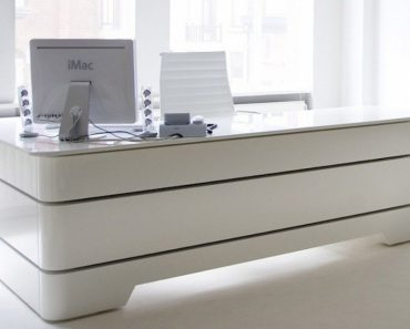 Modern Executive Home Office Desk Stylish