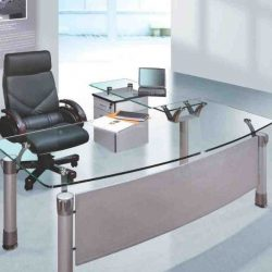 Modern Home Office Glass Desk Furniture