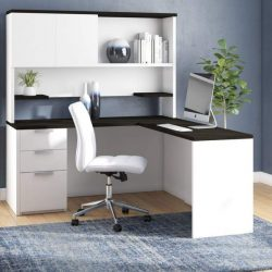 Modern Home Office Hutch
