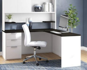 Modern Home Office Hutch