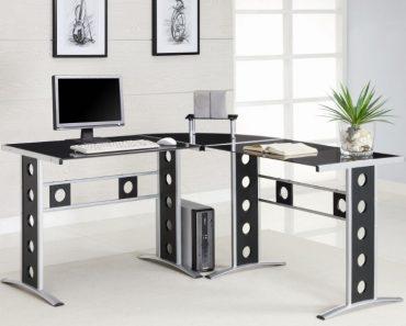 Modern Home Office L Shaped Desk