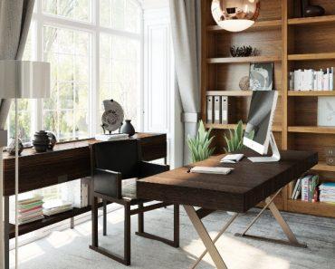 Modern Home Office Lighting Design Ideas