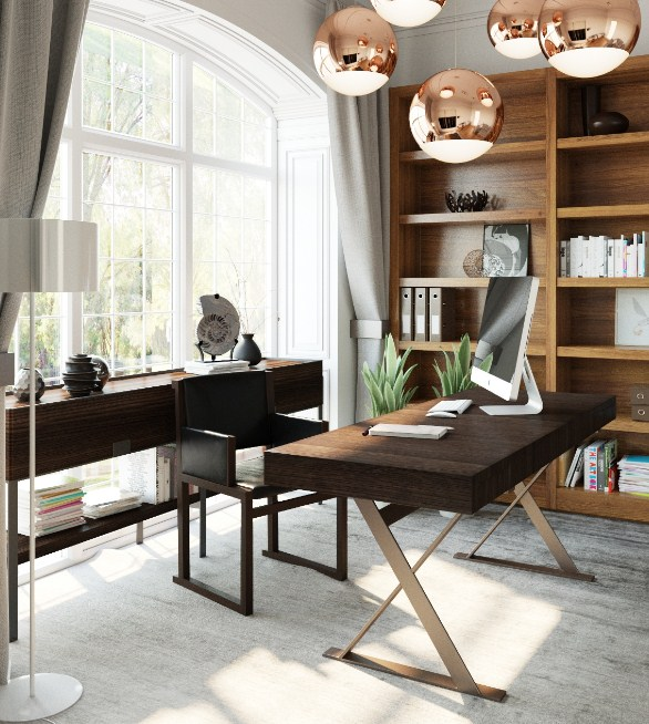 modern home office lighting design ideas