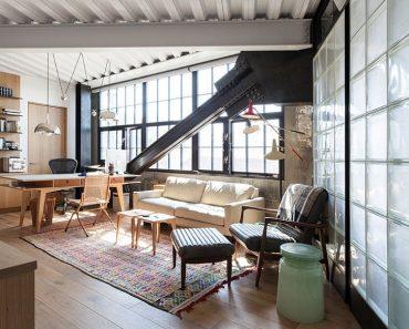 Modern Industrial Home Office Design Ingenious Modern Flair