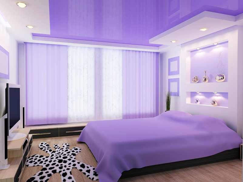 Purple Bedroom Designs And Decor Designing Idea Beautiful Bedroom Design Purple