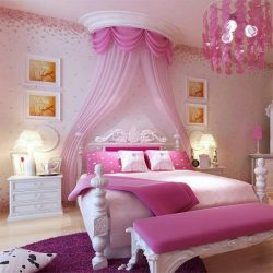 Quartos De Princesas Decorados Com Sofisticao E Elegncia Best Girls Bedroom Ideas Pink