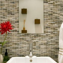 Bathroom Backsplash Styles And Trends Hgtv Elegant Backsplash In Bathroom Jpeg